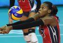 Dominicana Bethania de la Cruz con 35 puntos con los que le otorga el triunfo 3-2 a RD sobre Japón