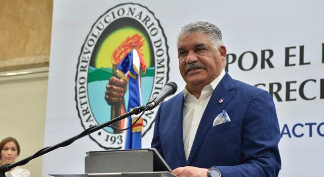 Presidente del PRD Miguel Vargas Maldonado reitera Leonel Fernández no puede ser candidato en las elecciones del 2020