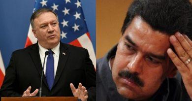 Secretario de Estado de EE.UU Mike Pompeo: «Es hora de que Nicolás Maduro se vaya»