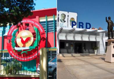 Los históricos PRD y PRSC quedan reducidos de partidos mayoritarios a minoritarios