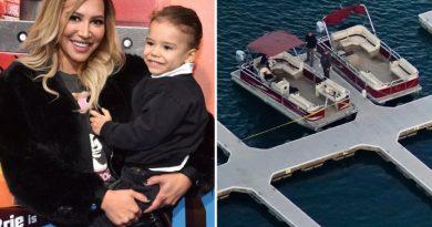 """""""Mamá saltó y no volvió más"""" lo que dijo a la policía el Hijo de la actriz Naya desaparecida en lago luego de un paseo en bote"""