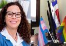 """Causa disgusto funcionara coloque banderas LGBT en despacho del Palacio Nacional dicen es """"una provocación contra la Familia Dominicana """""""